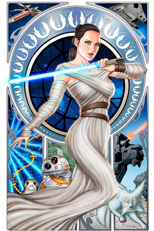 Star Wars: Rey Art Print