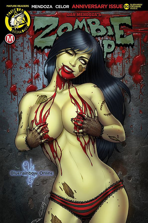 Zombie Tramp Issue #50 Bluerainbow Sorah Suhng Edition Ltd 100 (BLOOD)