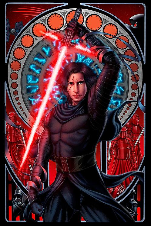 Star Wars: Kylo Ren Art Print