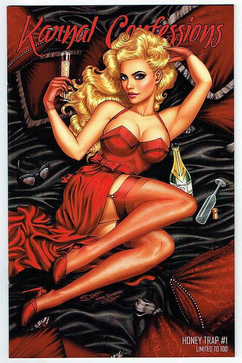 KARNAL CONFESSIONS: HONEY TRAP #1 ELVGREN HOMAGE TRADE EXCLUSIVE LIMITED 100