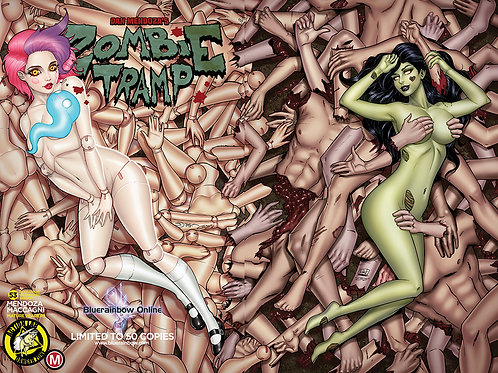 Zombie Tramp #53 Bluerainbow Exclusive Ltd 50 Unsigned