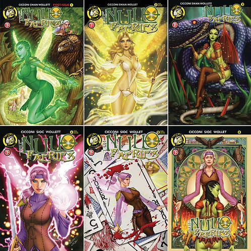 The Null Faeries: 6 Issue Bundle