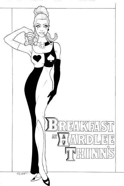 Hardlee Thinn: Breakfast At Tiffany's (Bluerainbow)