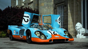 Porsche 917 by Dave Adams Automotive Images