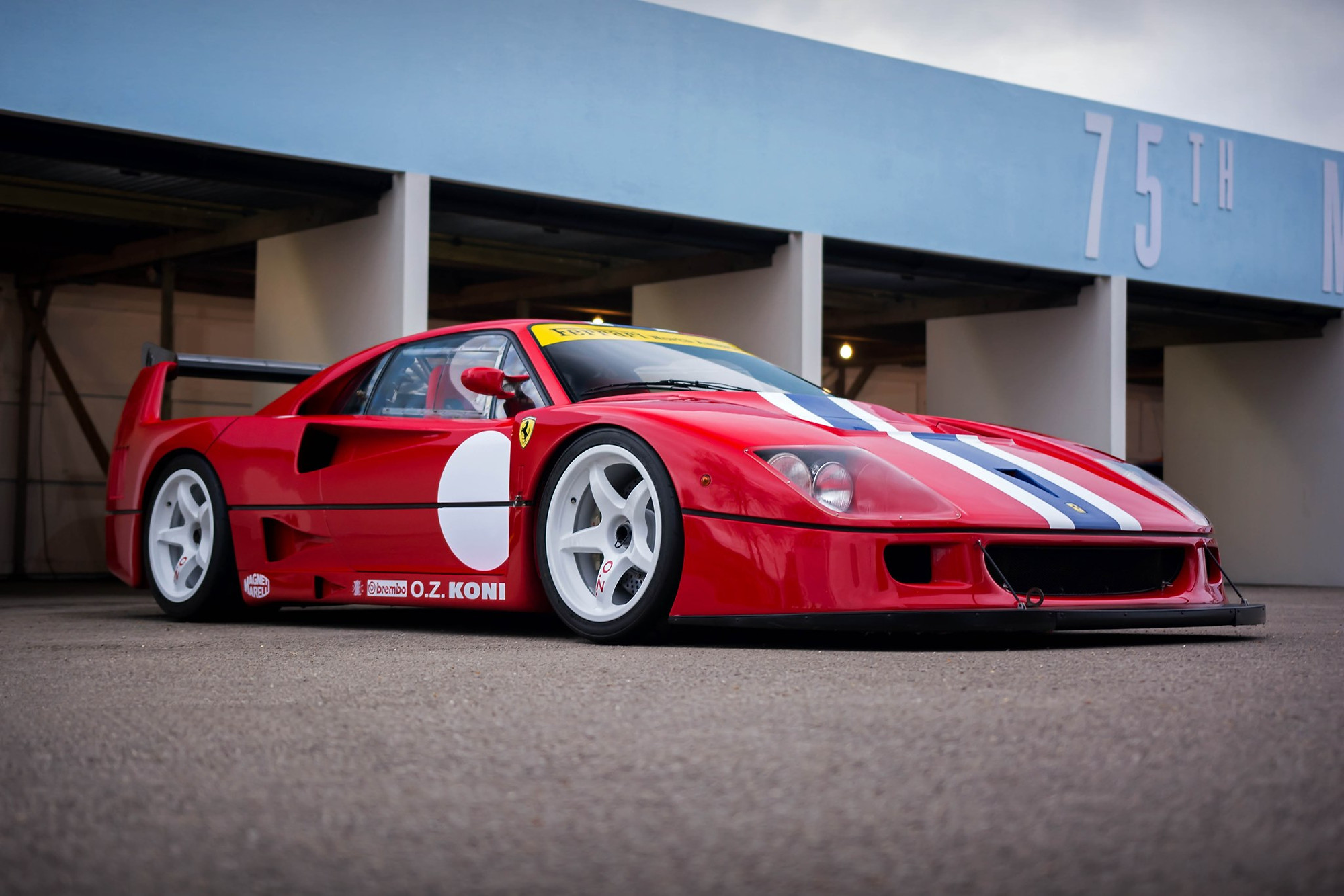 1993 Ferrari F40 Lm Chassis 97893 By Dave Rook Speedholics