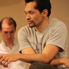 Julius Caesar (rehearsal) at Bridge Repertory Company