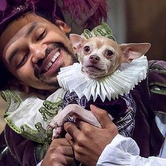 Valentine (with Spot) in Shakespeare In Love