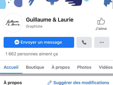 Guillaume & Laurie Facebook