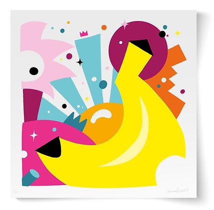 "Impression d'art ""Banana"""