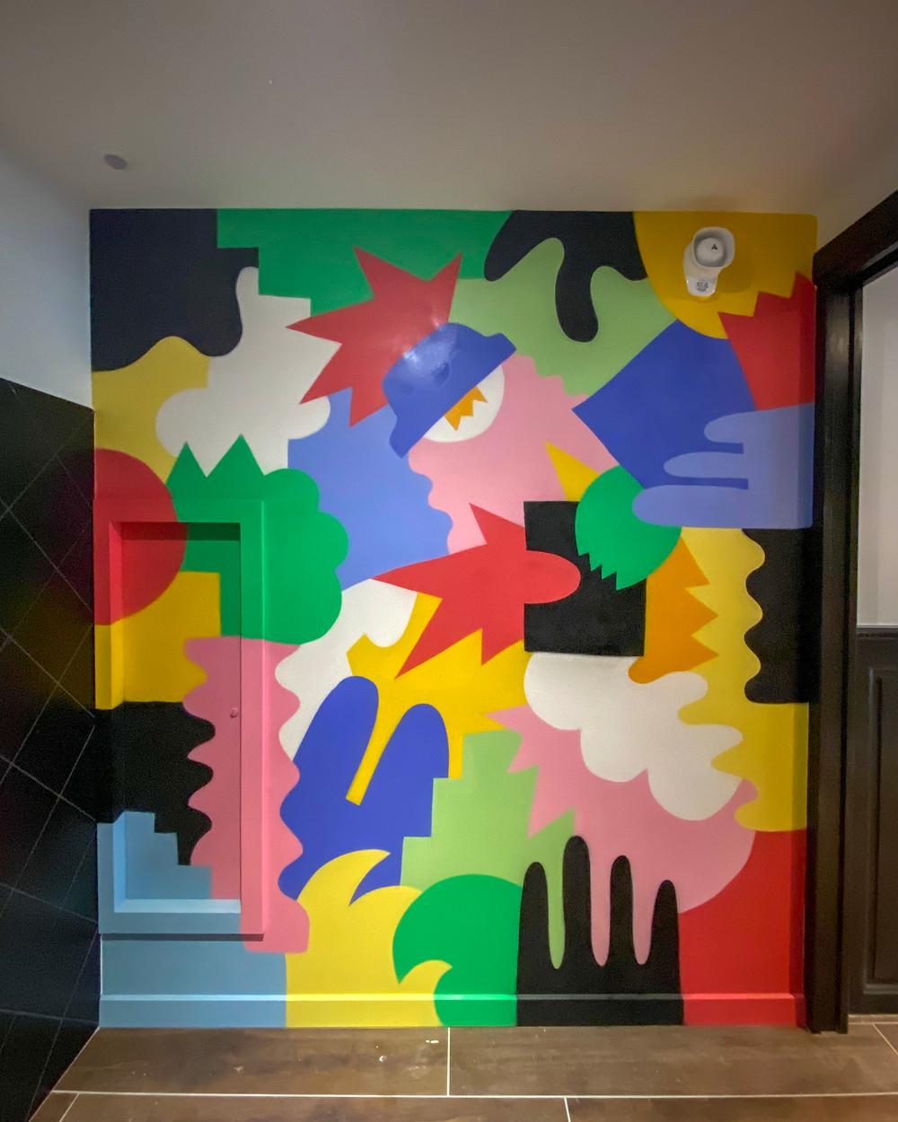 guillaume et laurie, fresque, Ardèche, designer, artiste