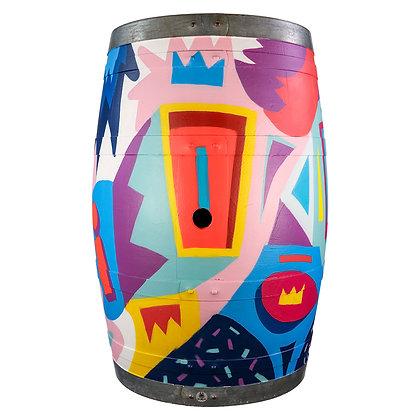 Wine Barrel  #02
