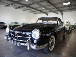 Mercedes 190 Sl Noire (VENDUE)