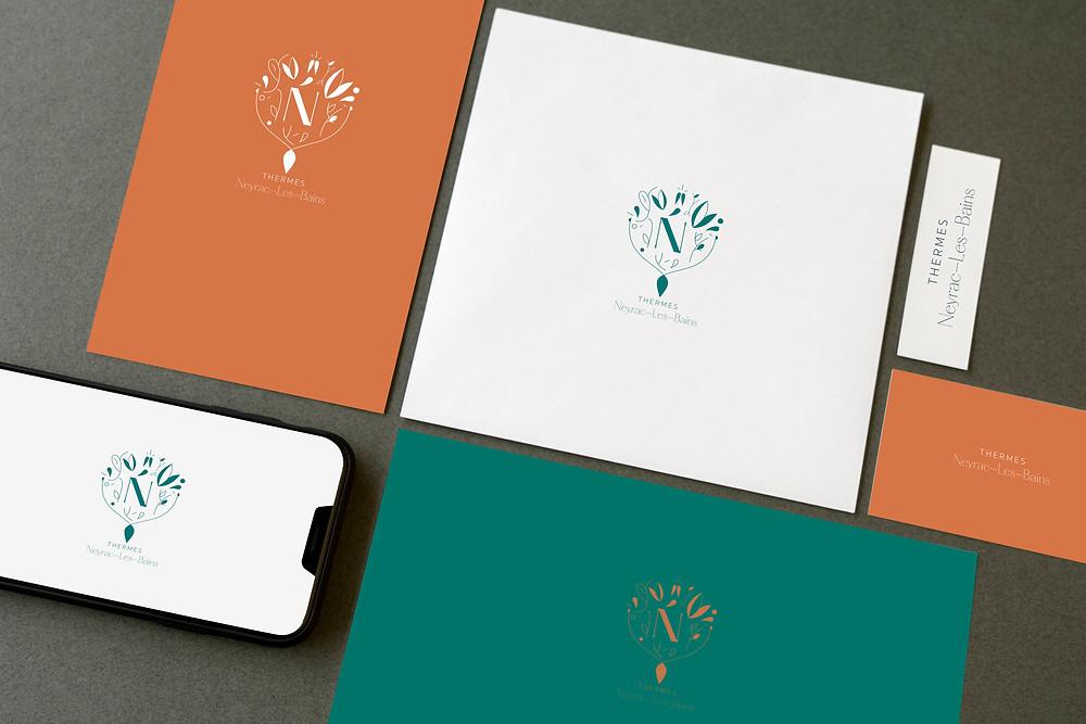 Création de logo | Guillaume & Laurie | Design et conception graphique |