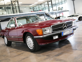 Mercedes 300 Sl Rouge 1989 (VENDUE)