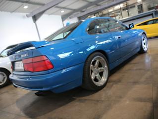 BMW 850i Bleue (VENDUE)