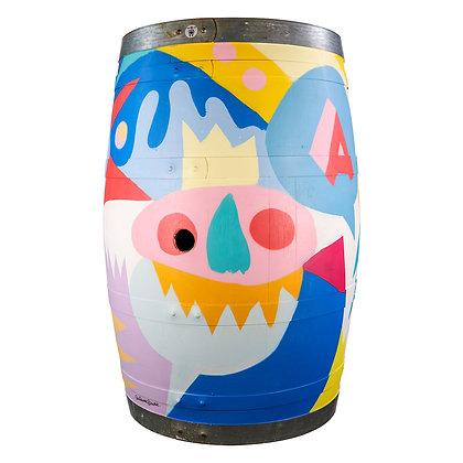 Wine Barrel  #04