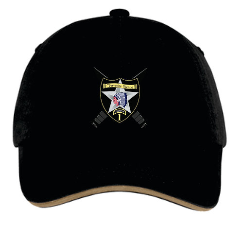 1-2 Black hat with colored logo