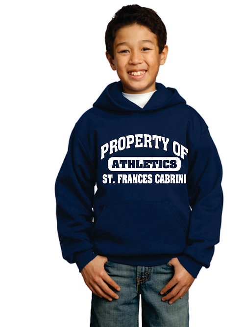 Youth hoodie Property Of