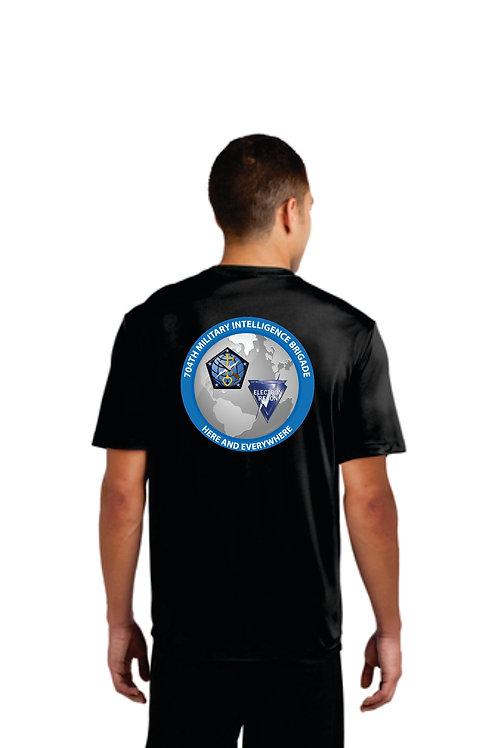 704th MI BN Moisture Wicking short sleeve