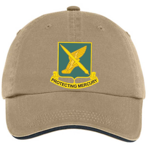 156th Khaki hat With call sign, With or with out flag