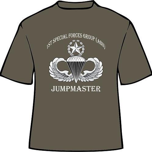 1st SFG Jumpmaster Cotton tee