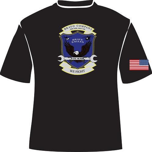 46th ASB B Co. moisture wicking shirt