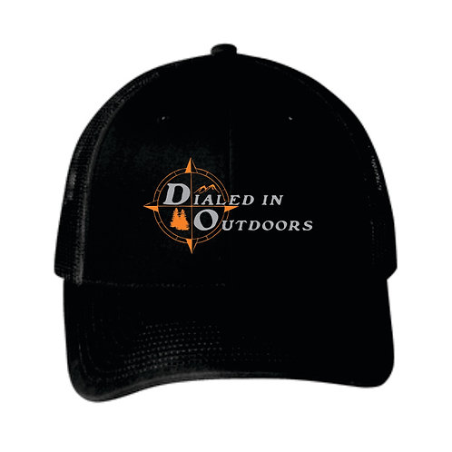 Dialed in Outdoors All Black hat