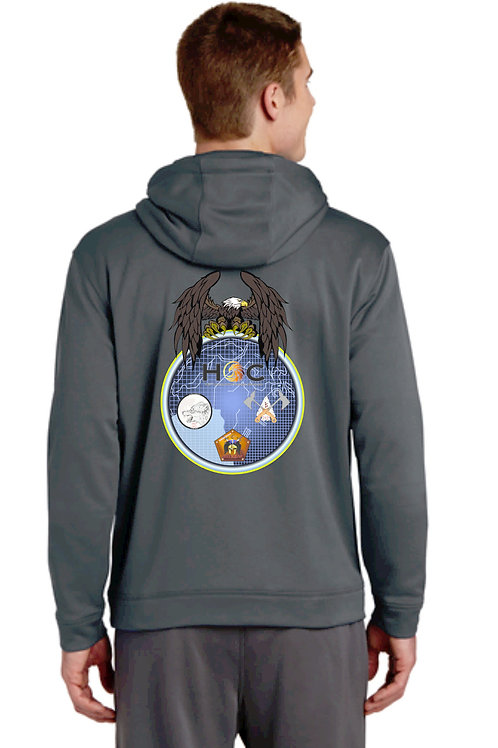 742nd MI Brigade Moisture Wicking Hoodie With call sign and rank