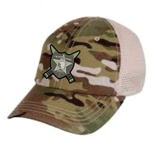1-2 Multi-cam mesh back hat