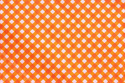 オレンジチェック