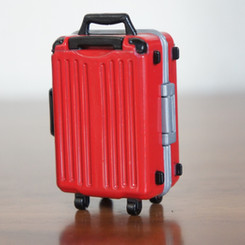 スーツケースの解錠