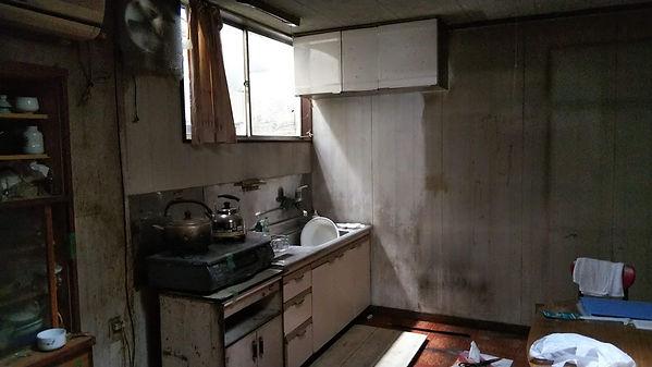 汚れのひどい家