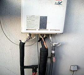 水道凍結防止工事2