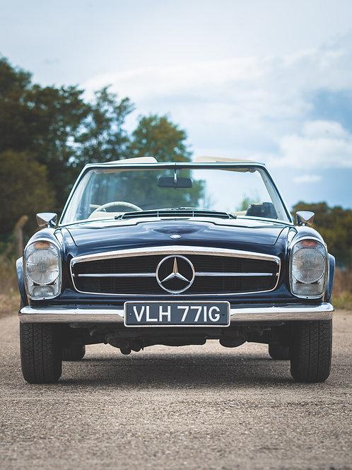 SOLD --- Mercedes 280 SL Pagoda 1968