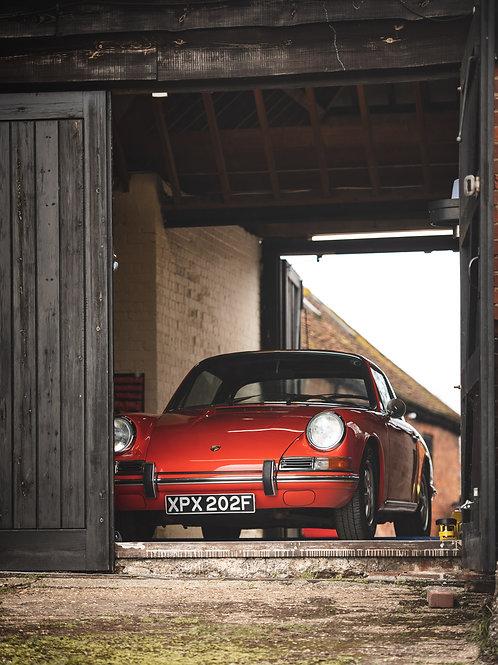 Now Sold    Porsche 912 Soft Window Targa 1968 Restored Example