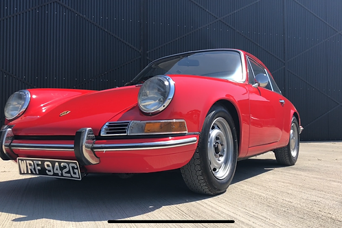 Porsche 911T RHD 1969 Sportamatic Coupe Red