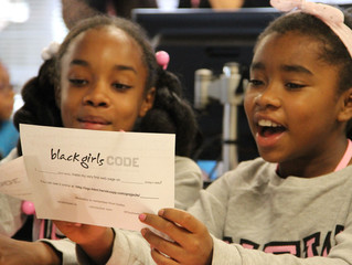 Black Girls Code teaches girls digital technology skills