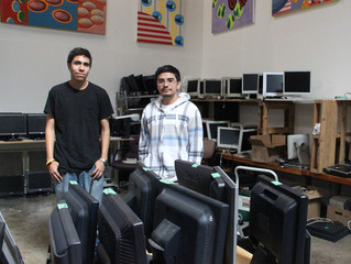 Teens turn tech skills learned from nonprofit into a first job