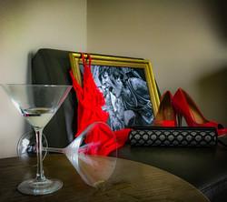 spilled martini