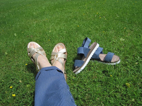Live Well - Summer foot treatments