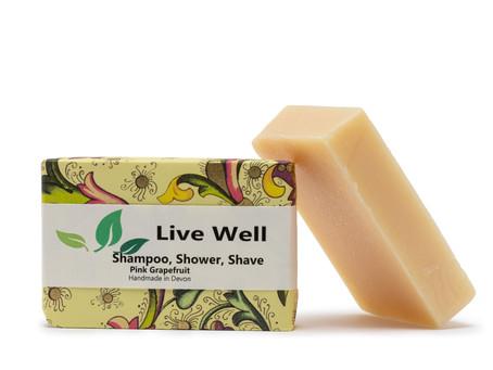 Live Well - Sustainable Shampoo Bars