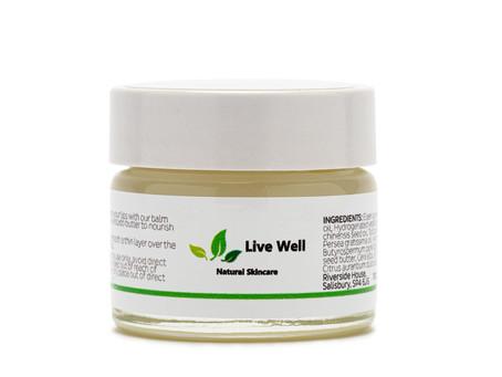 Live Well - Organic lip-balm