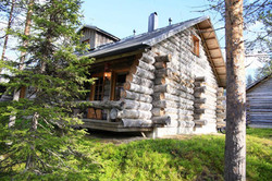 Summer  log cabin Lapland
