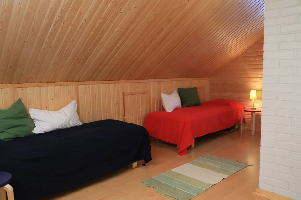 Two extra beds  log cabin Lapland