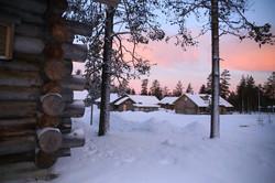 Our neighbourhood  log cabin Lapland