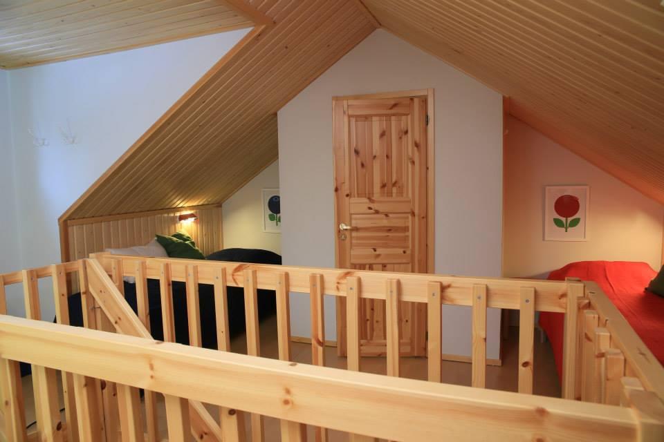 Mezzanine log cabin Lapland