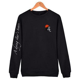 Orange Logo 'Dying Star' Sweatshirt