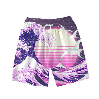 """Wave of Vapor"" Comfort Shorts"
