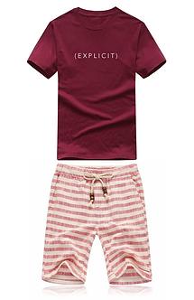 """""""Explicit"""" Shirt & Shorts Bundle"""