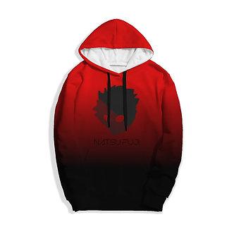 Kashisekai x Natsu Fuji Hoodie -Red/Black